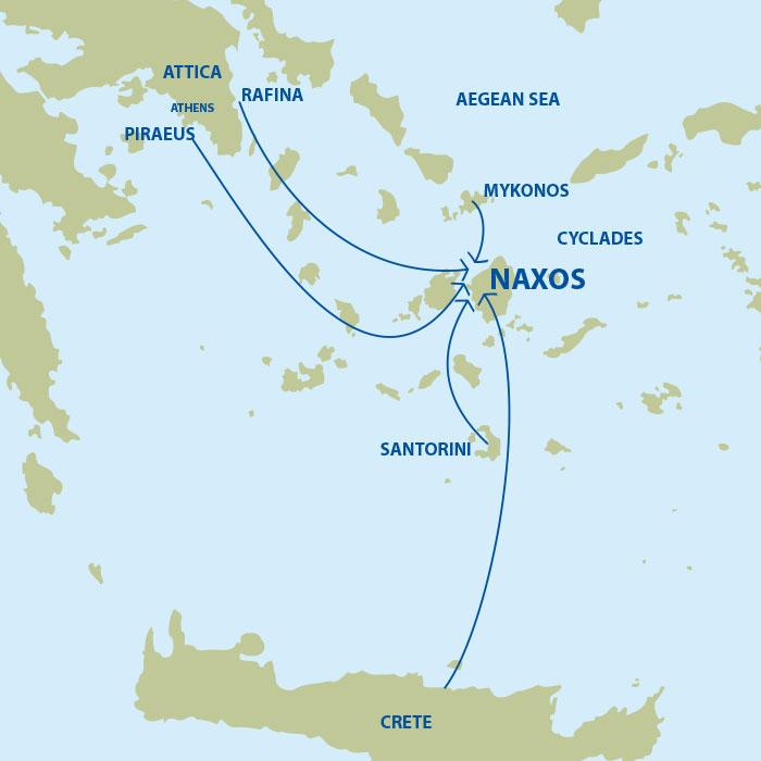 Getting to Naxos